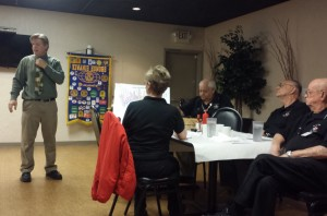 """Presenting at Las Vegas Kiwanis Club. Jeff Grinel our founder speaking about the benefits of a """"Memory Organization System"""""""