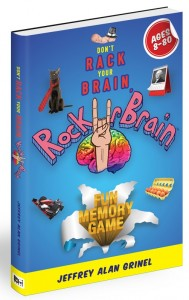 RockUrBrain Fun Memory Game Book